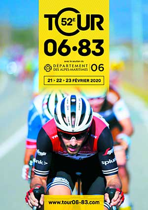Affiche Tour Cycliste : restrictions de circulation