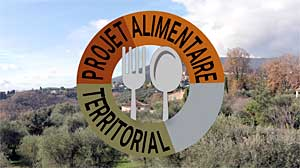 Affiche Le projet alimentaire territorial